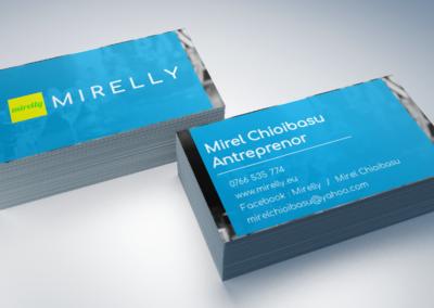 Mock-up Mirely carti de vizita